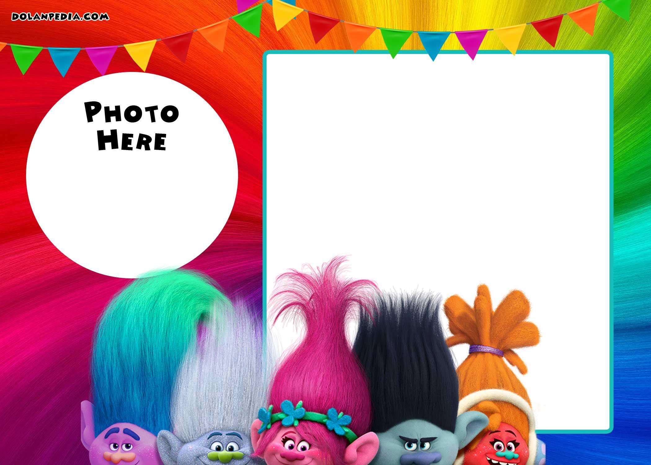 Free Printable Trolls Invitation   Free Printable Birthday - Free Printable Trolls