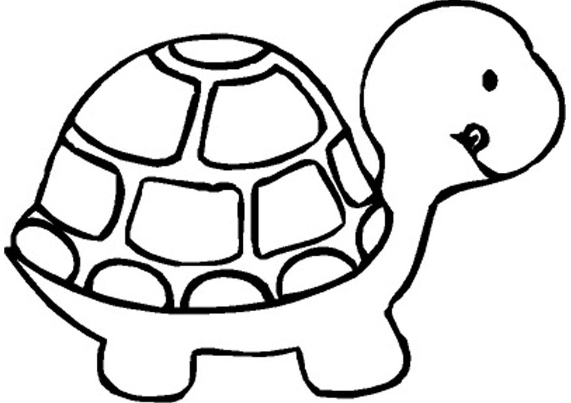 Free Printable Turtle Coloring Pages For Kids | Kuljit All - Free Printable Coloring Pages For Preschoolers