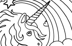 Free Printable Unicorn Coloring Pages For Kids | Fun | Pinterest – Free Printable Unicorn Coloring Pages