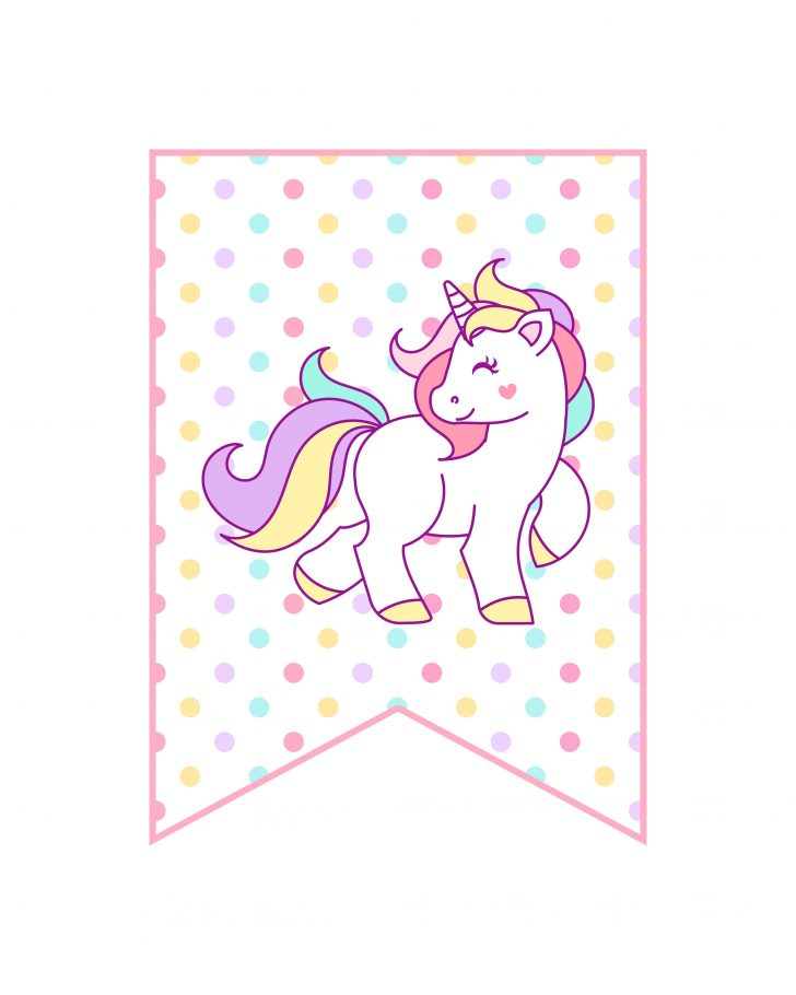 Free Printable Unicorn Birthday Invitations