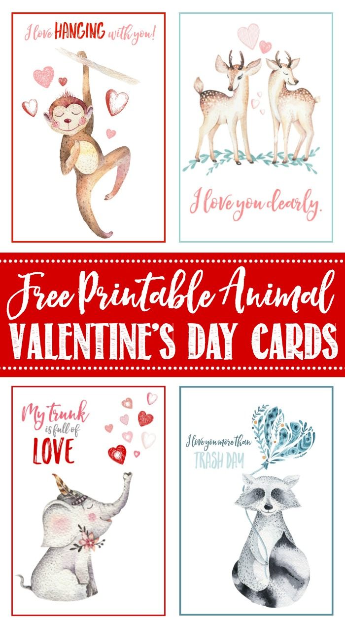 Free Printable Valentine's Day Cards And Tags - Clean And Scentsible - Free Printable Valentines Day Cards