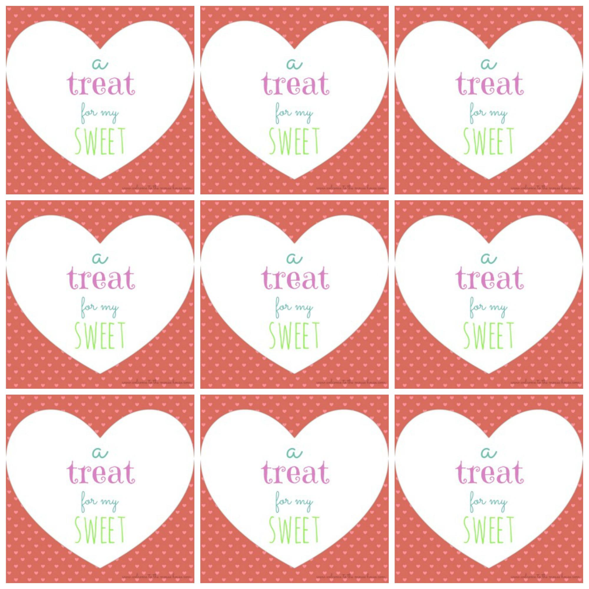 Free Printable Valentine's Day Tags - Free Printable Valentine Tags