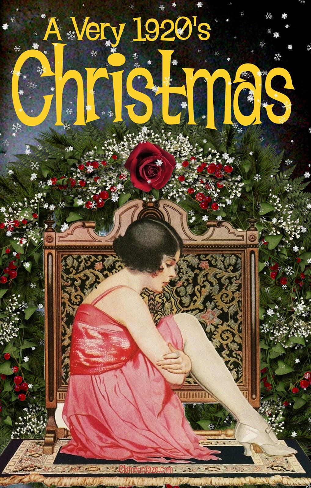 Free Printable Vintage Christmas Card | Glamour Daze - Free Printable Vintage Christmas Images