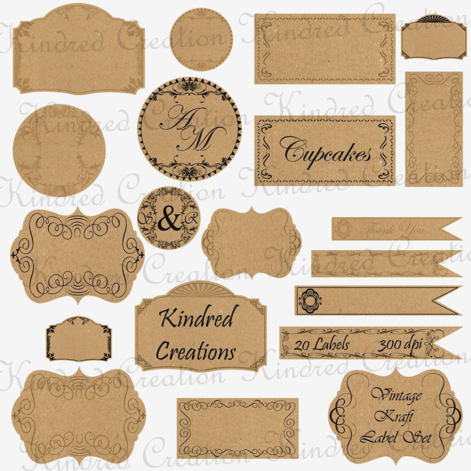 Free Printable Vintage Paper Label Tags | Halloween | Pinterest - Free Printable Vintage Labels