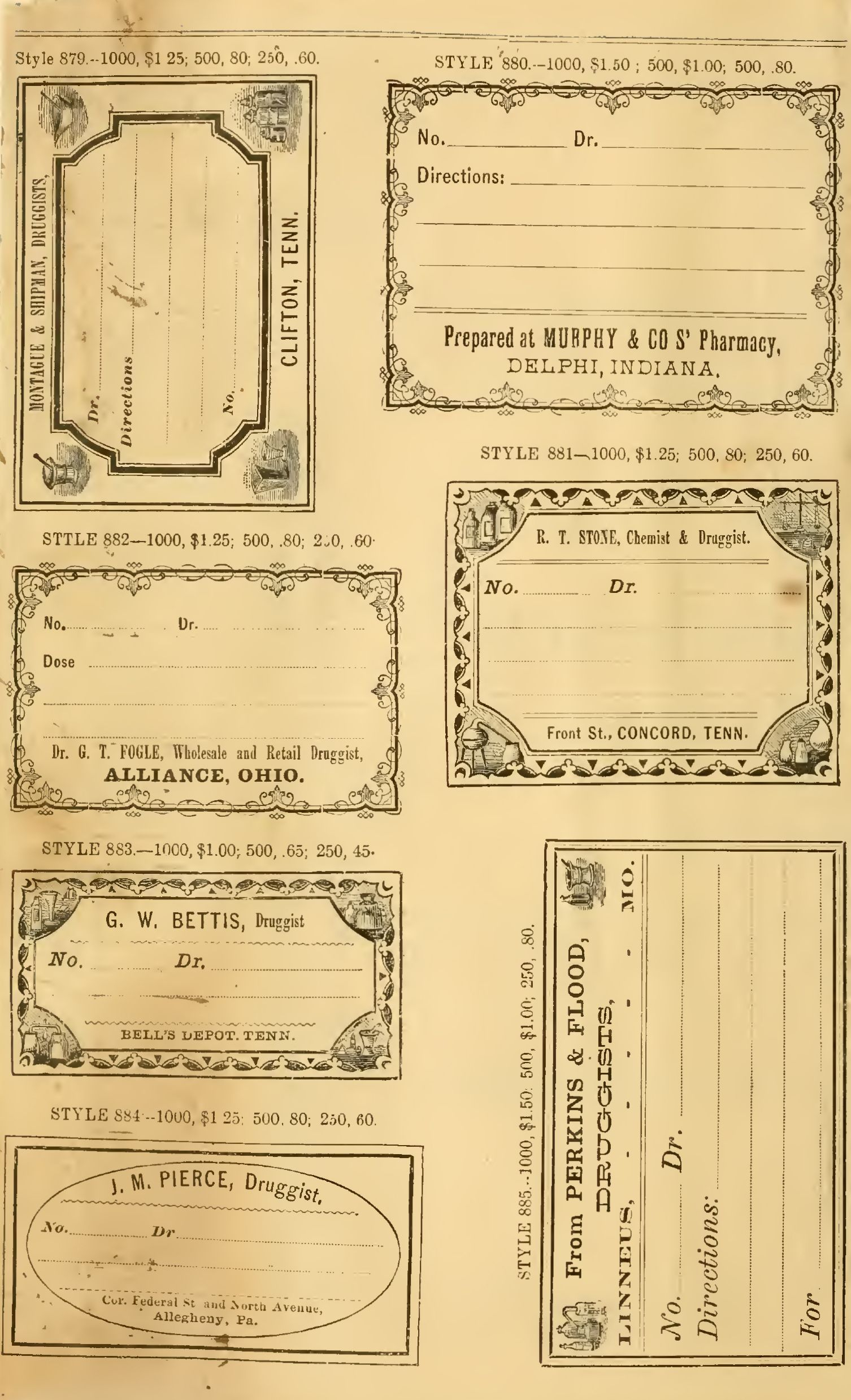 Free Printable Vintage Pharmacy & Apothecary Labels | The - Free Printable Old Fashioned Labels