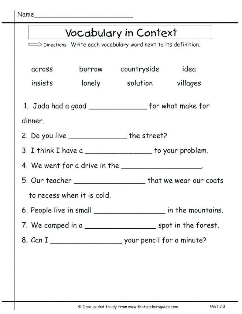 Free Printable Vocabulary Quiz Maker   Free Printable - Free Printable Vocabulary Quiz Maker