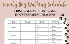 Free Printable Walking Log