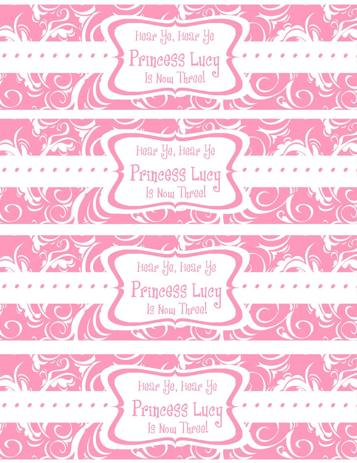Free Printable Water Bottle Labels Template | Kreatief | Pinterest - Free Printable Water Bottle Label Template