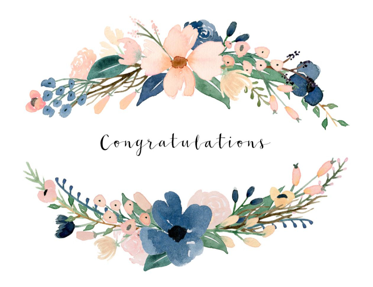 Free, Printable Wedding Cards That Say Congrats - Free Printable Wedding Cards