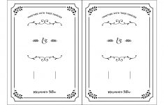 Free Printable Wedding Invitation Template – Free Printable Wedding Invitations