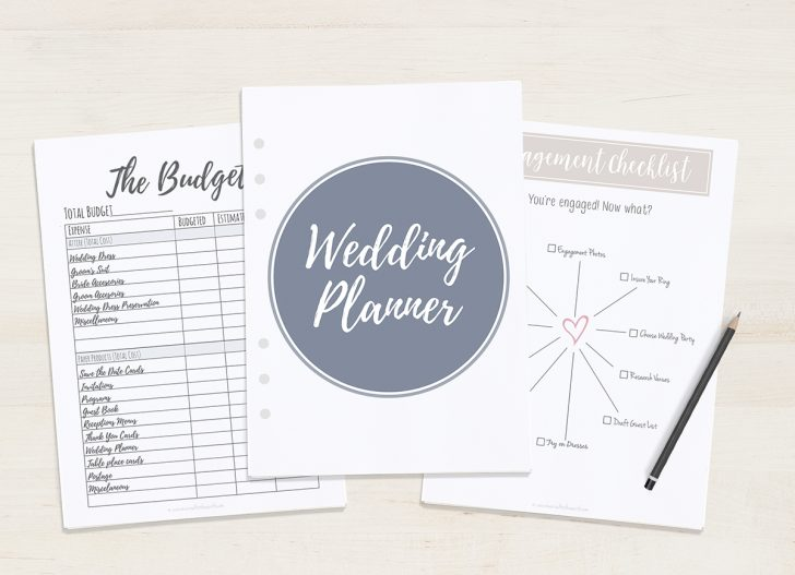 Free Printable Wedding Binder Templates