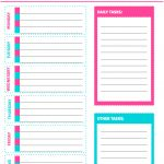 Free Printable Weekly Cleaning Checklist   Sarah Titus   Free Printable Checklist