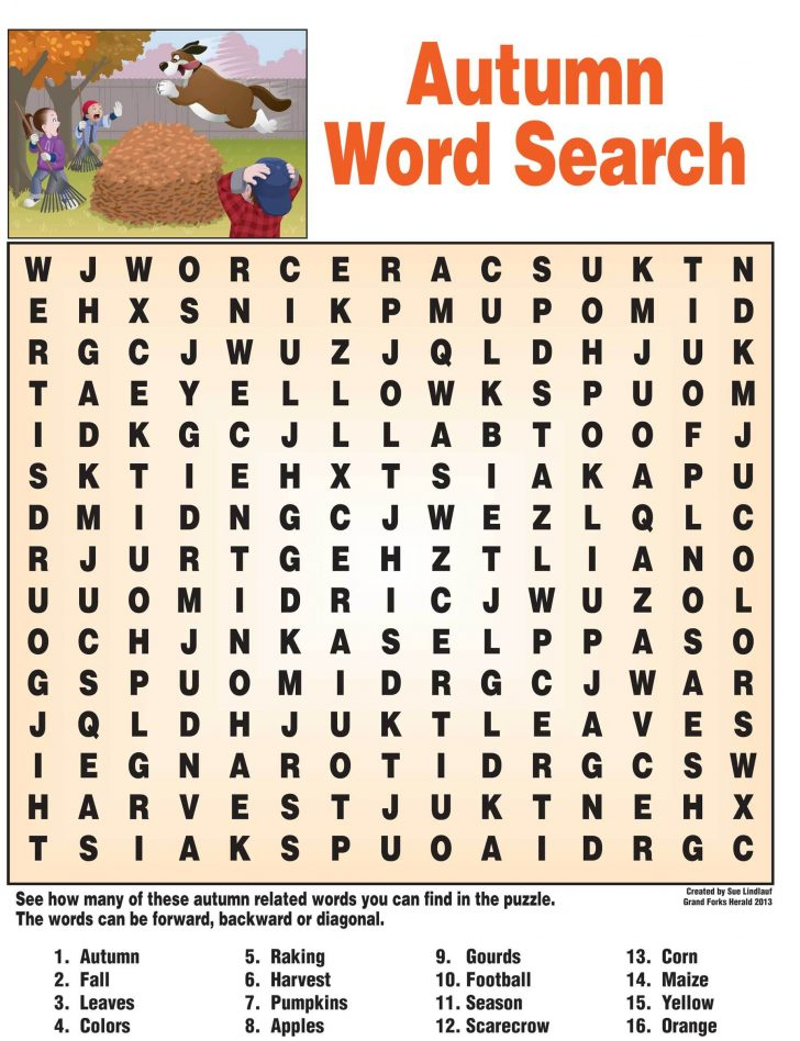 Free Printable Word Searches For Middle School Students