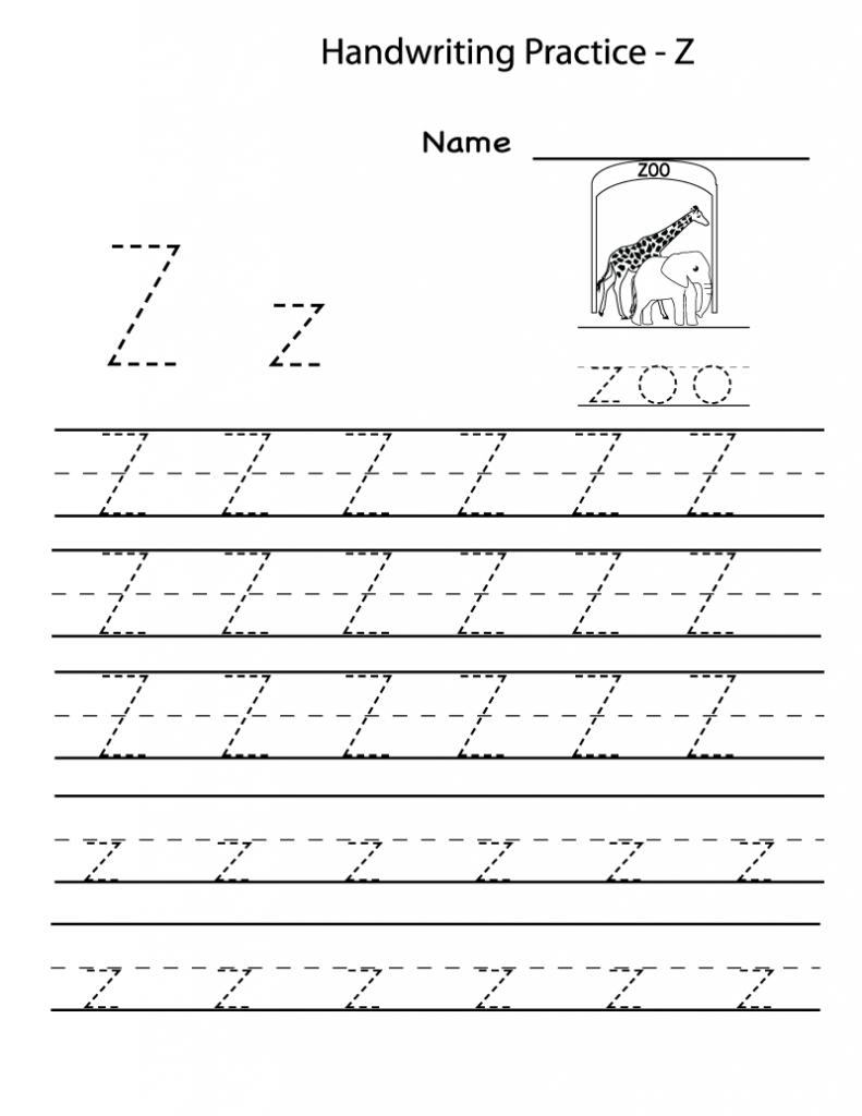 Free Printable Worksheets For Preschoolers For The Letter Z - Letter Z Worksheets Free Printable