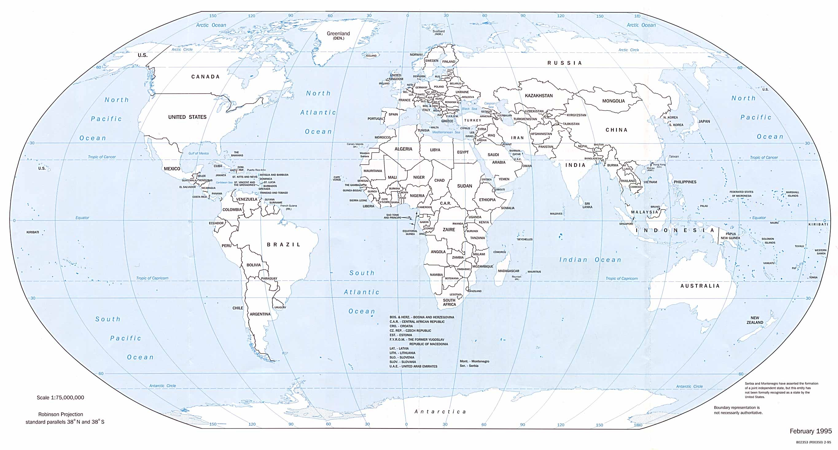 Free Printable World Map With Countries Labeled And Travel - Free Printable World Map With Countries Labeled