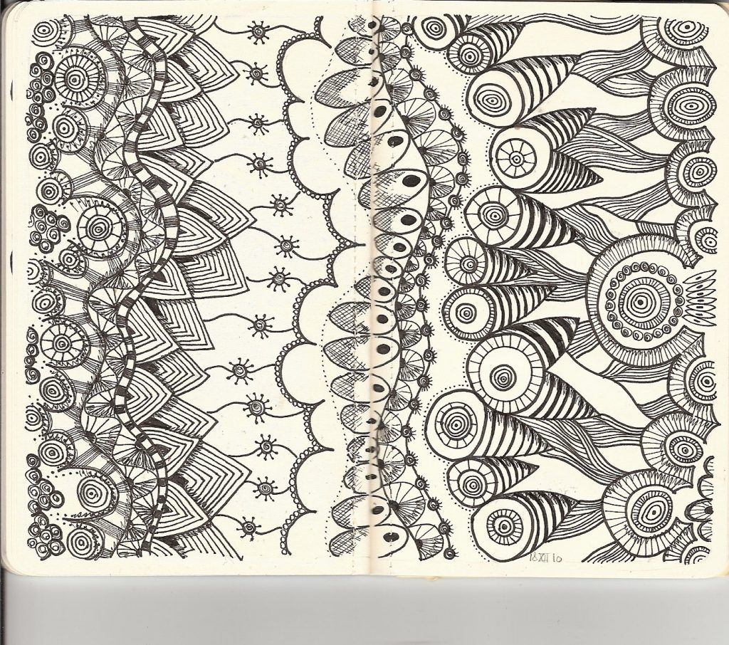 Free Printable Zentangle Coloring Pages For Adults | Coloring Pages - Free Printable Doodle Patterns