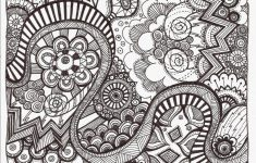 Free Printable Zentangle Coloring Pages For Adults | Free Printable - Free Printable Zen Coloring Pages
