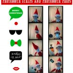 Free Printables For Elf On The Shelf Sized Photobooth Props And   Elf On The Shelf Printable Props Free