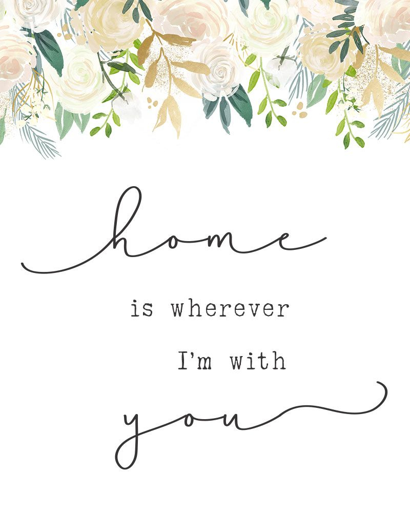 Free Printables - Let's Stay Home | Best Of The Harper House | Free - Free Printable Artwork