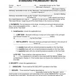 Free Promissory Note Templates   Pdf   Word   Eforms – Free Fillable   Free Promissory Note Printable Form