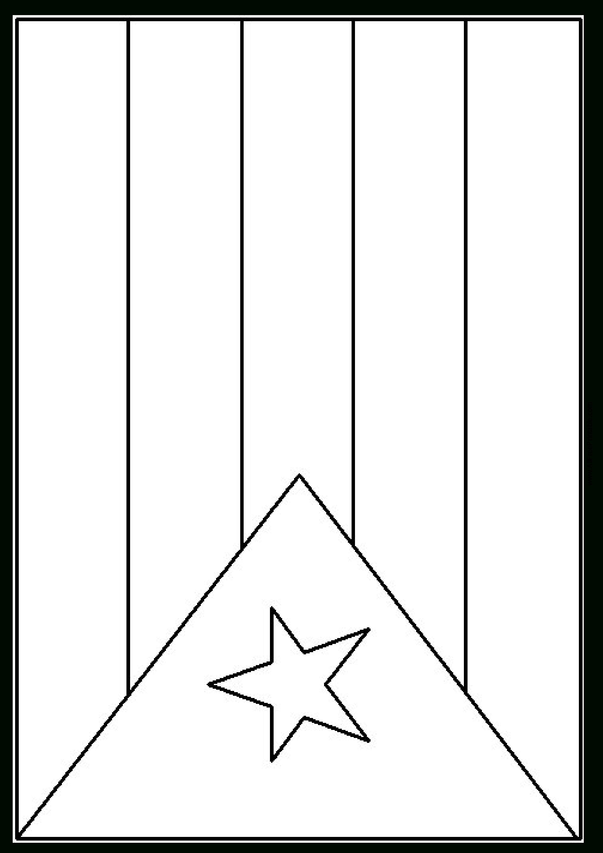Free Puerto Rico Flag Template | Templates At Allbusinesstemplates - Free Printable Blank Flag Template
