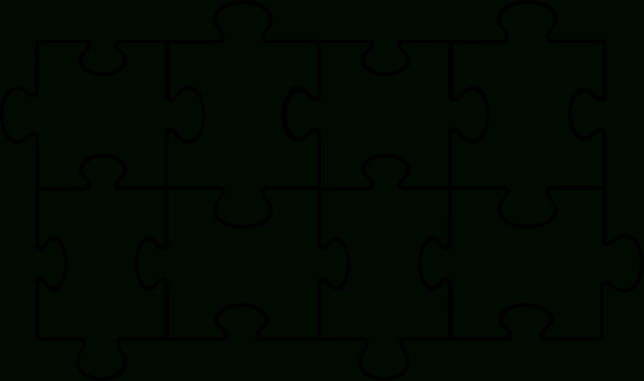 Free Puzzle Pieces Template, Download Free Clip Art, Free Clip Art - Free Blank Printable Puzzle Pieces