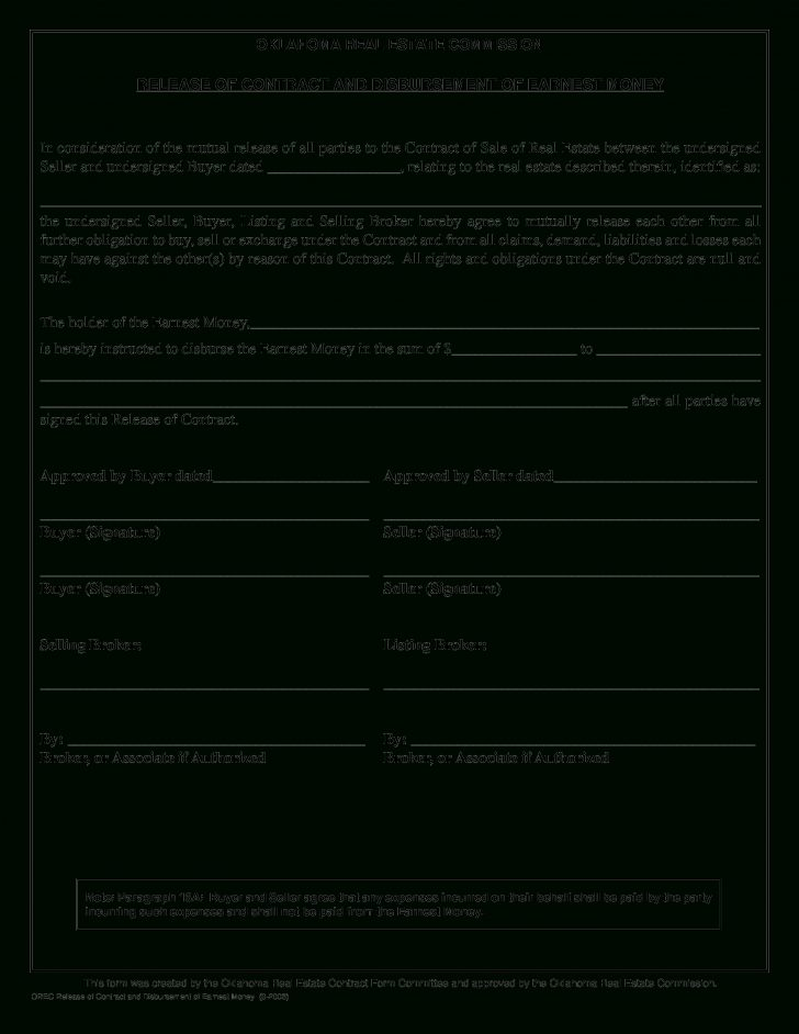 Free Printable Real Estate Contracts
