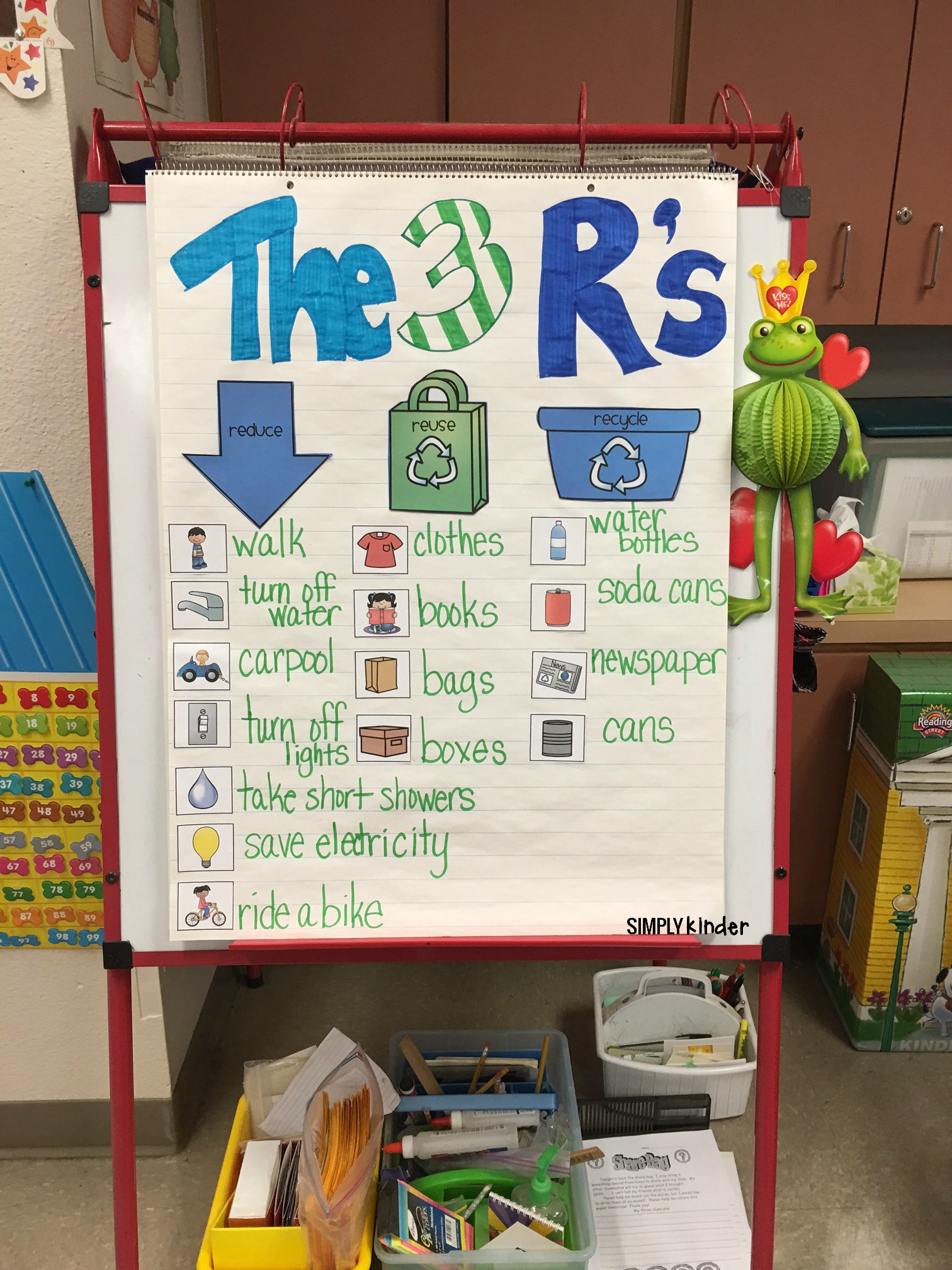Free Recycling Sort - Simply Kinder - Free Printable Recycling Worksheets