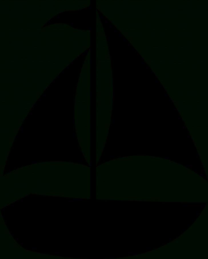 Free Printable Sailboat Template