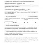 Free Seven (7) Day Eviction Notice Template   Pdf | Word | Eforms   Free Printable Eviction Notice Ohio