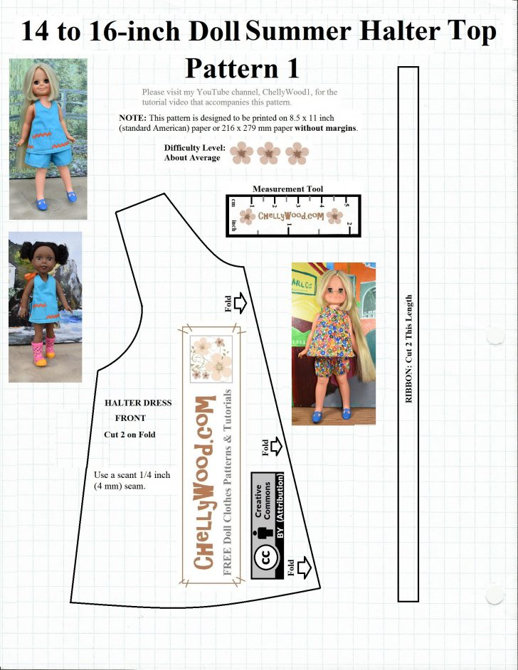 Free Printable Sewing Patterns