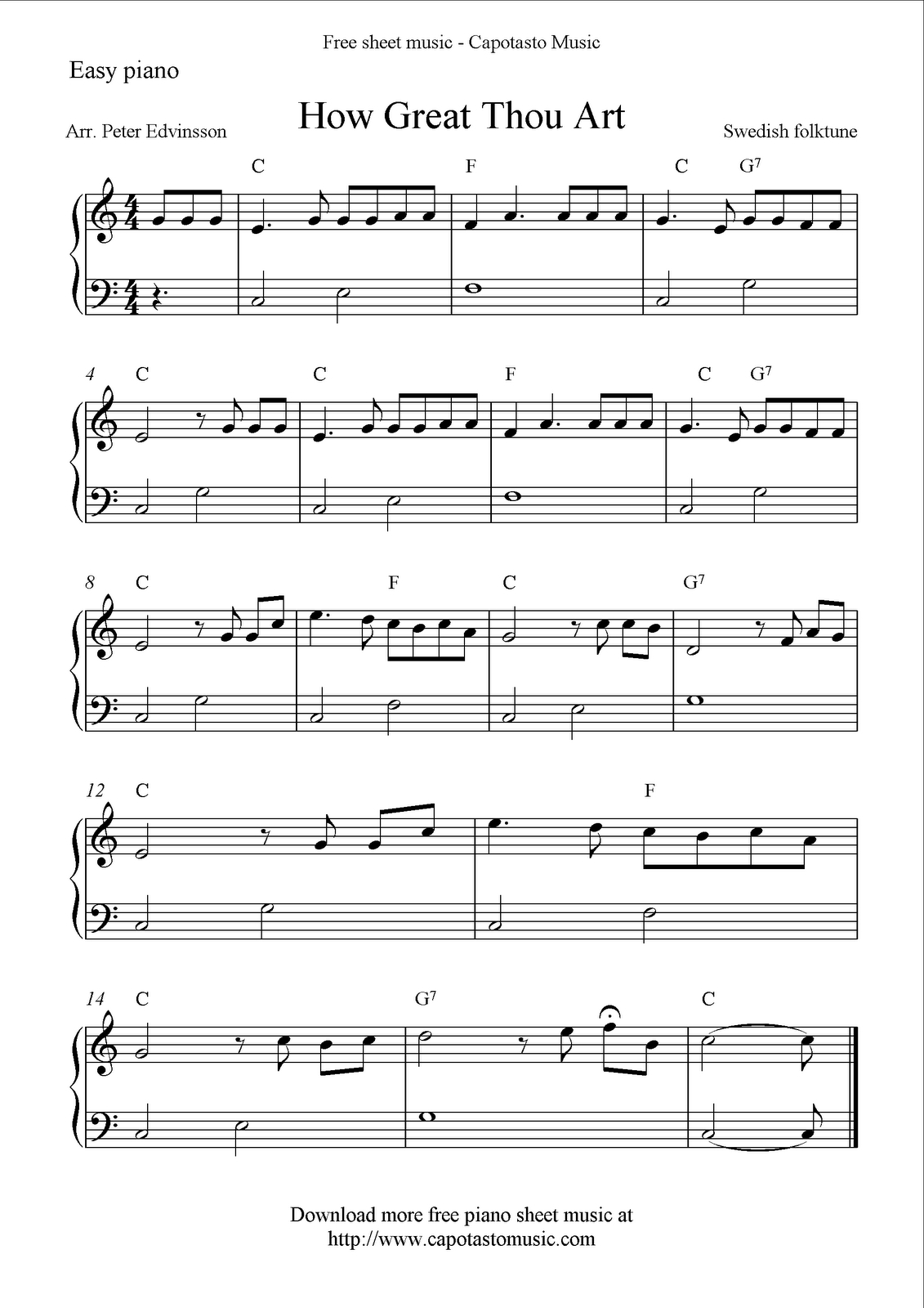 Free Sheet Music Pages & Guitar Lessons | Orchestra | Pinterest - Piano Sheet Music For Beginners Popular Songs Free Printable