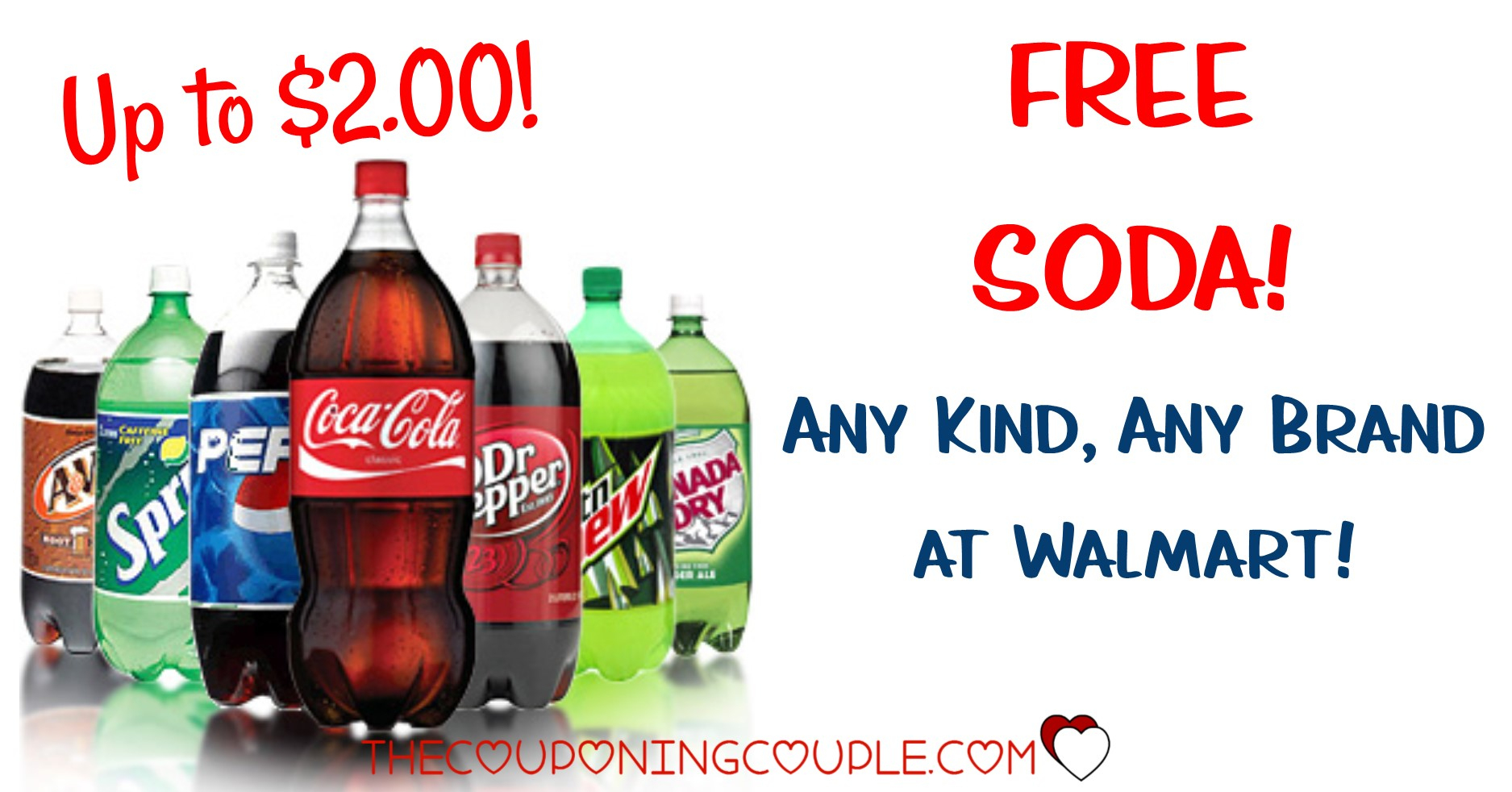 Free Soda Any Brand @ Walmart Before 2/9/19 - Free Printable Coupons For Coca Cola Products