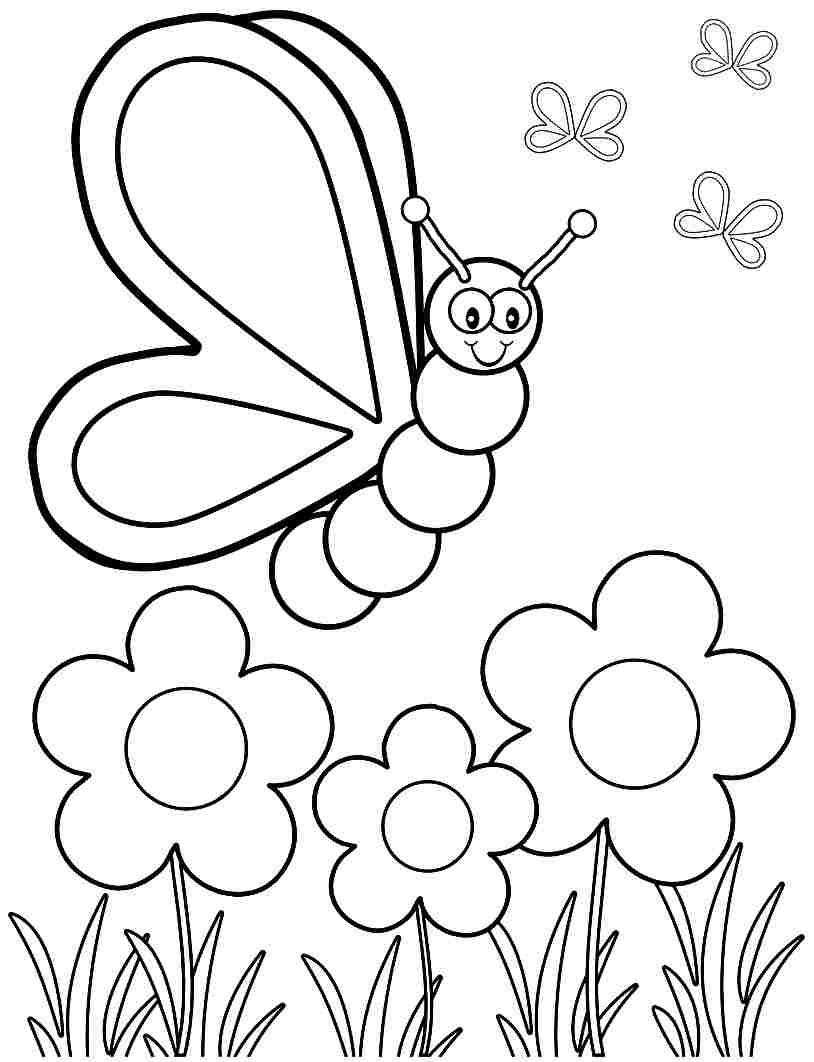 Free Spring Coloring Pages, Download Free Clip Art, Free Clip Art On - Spring Coloring Sheets Free Printable