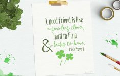 Free-St-Patricks-Day-Printable – Free Printable St Patricks Day Stationery
