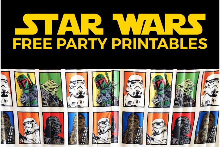 Star Wars Invitations Free Printable