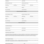 Free Student Information Sheet Template | Student Emergency Contact – Free Printable Medical Forms Kit