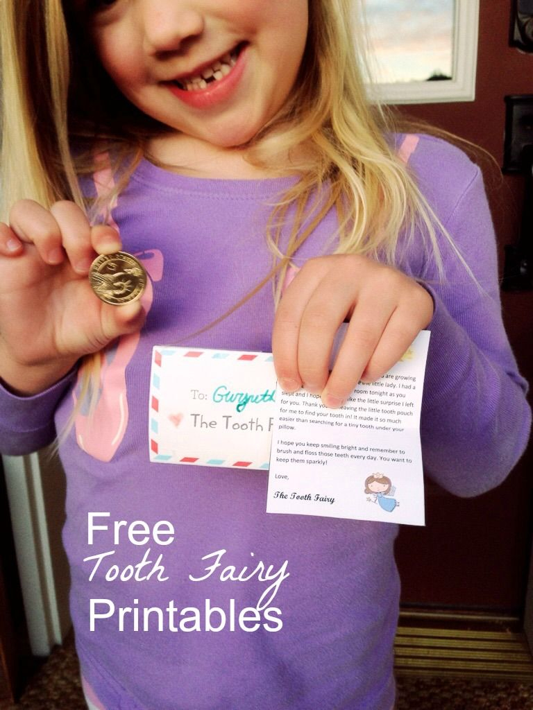 Free Tooth Fairy Printable For Mini Letter From The Tooth Fairy That - Tooth Fairy Stationery Free Printable