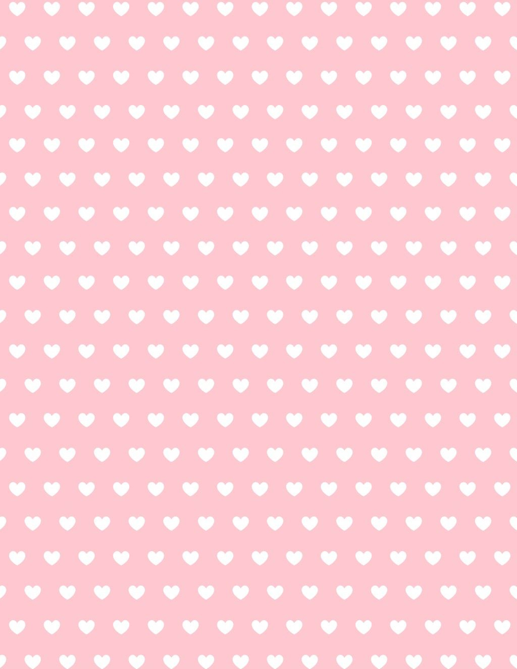 Free Valentine Hearts Scrapbook Paper   Perfect Student - Free Printable Heart Designs