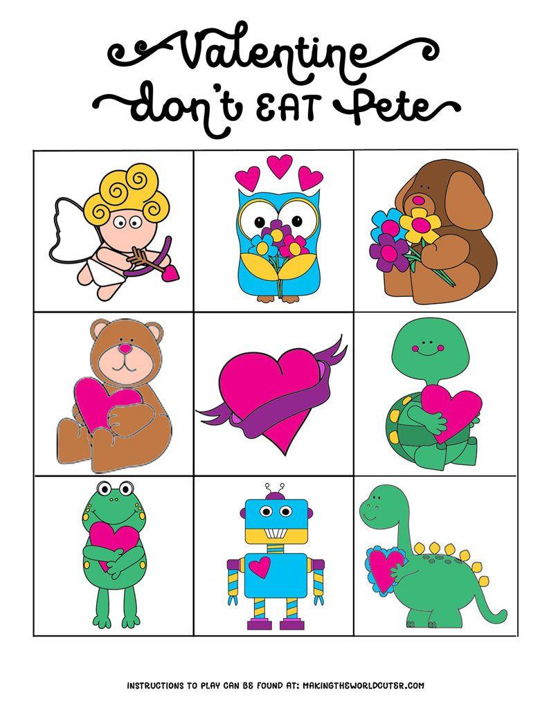 Free Valentine Printables Don't Eat Pete   Nancy Thomas   Valentines - Don T Eat Pete Free Printable