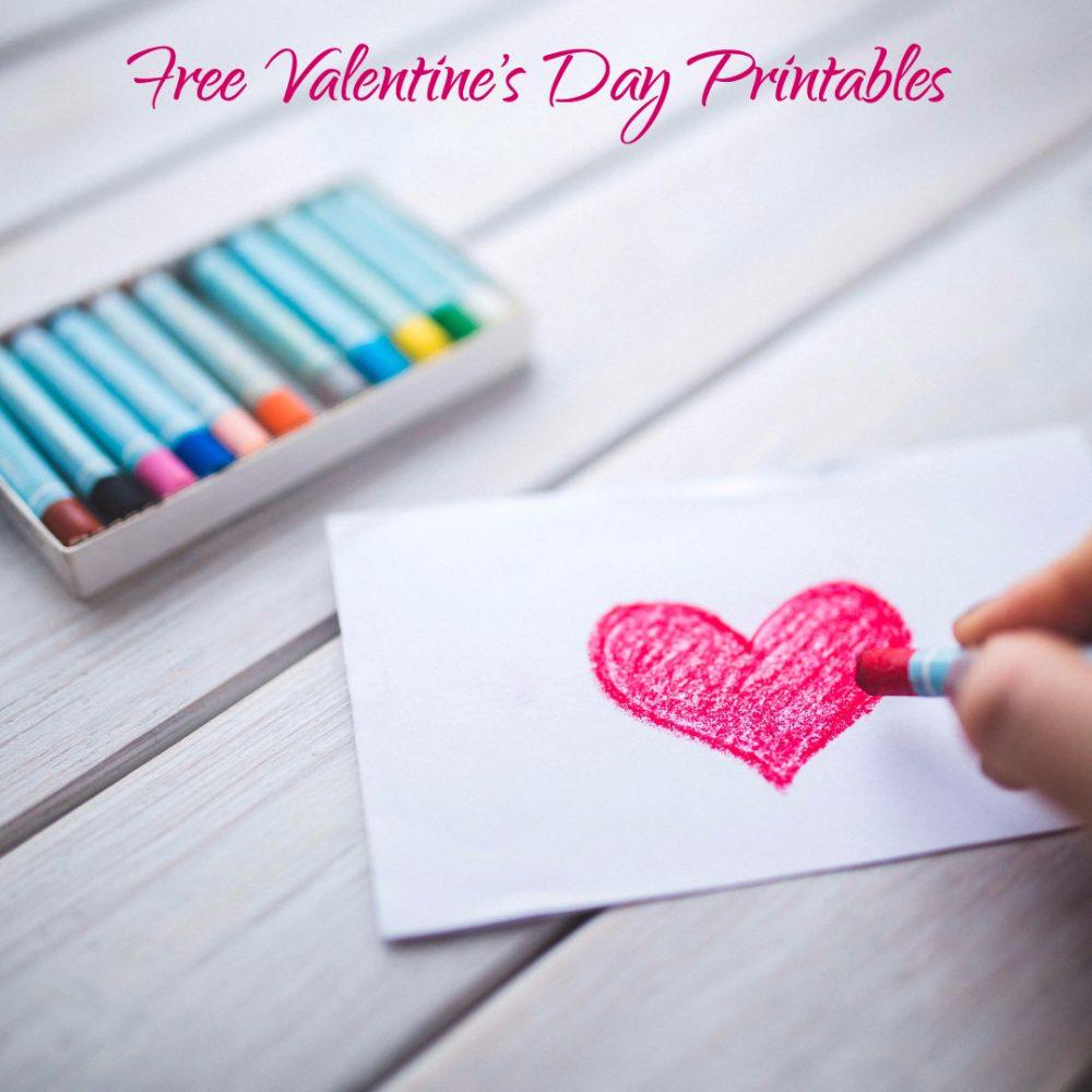 Free Valentine's Day Printables - Make Breaks - Free Printable Valentine's Day Stencils