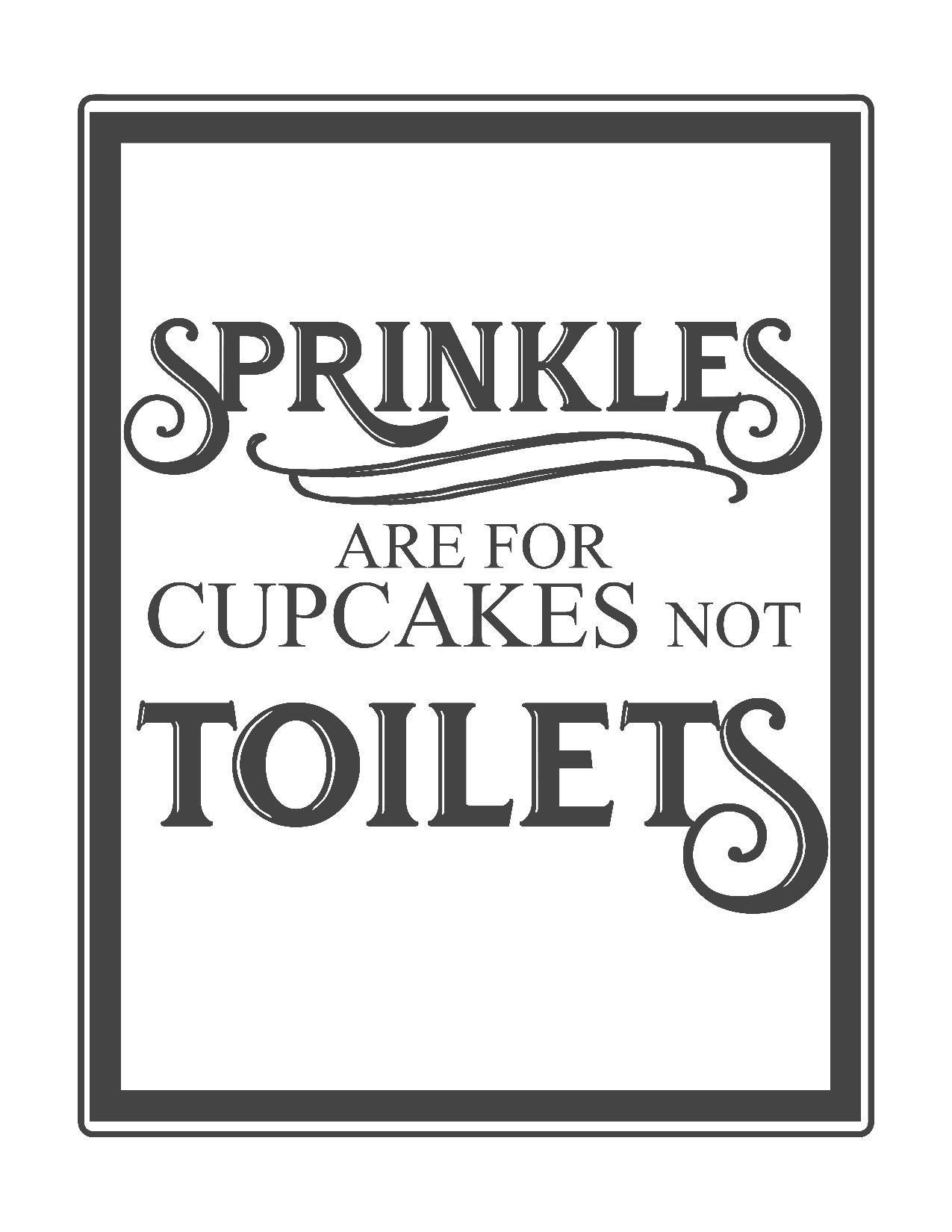 Free Vintage Bathroom Printables | Printables ** | Pinterest - Free Printable Funny Office Signs