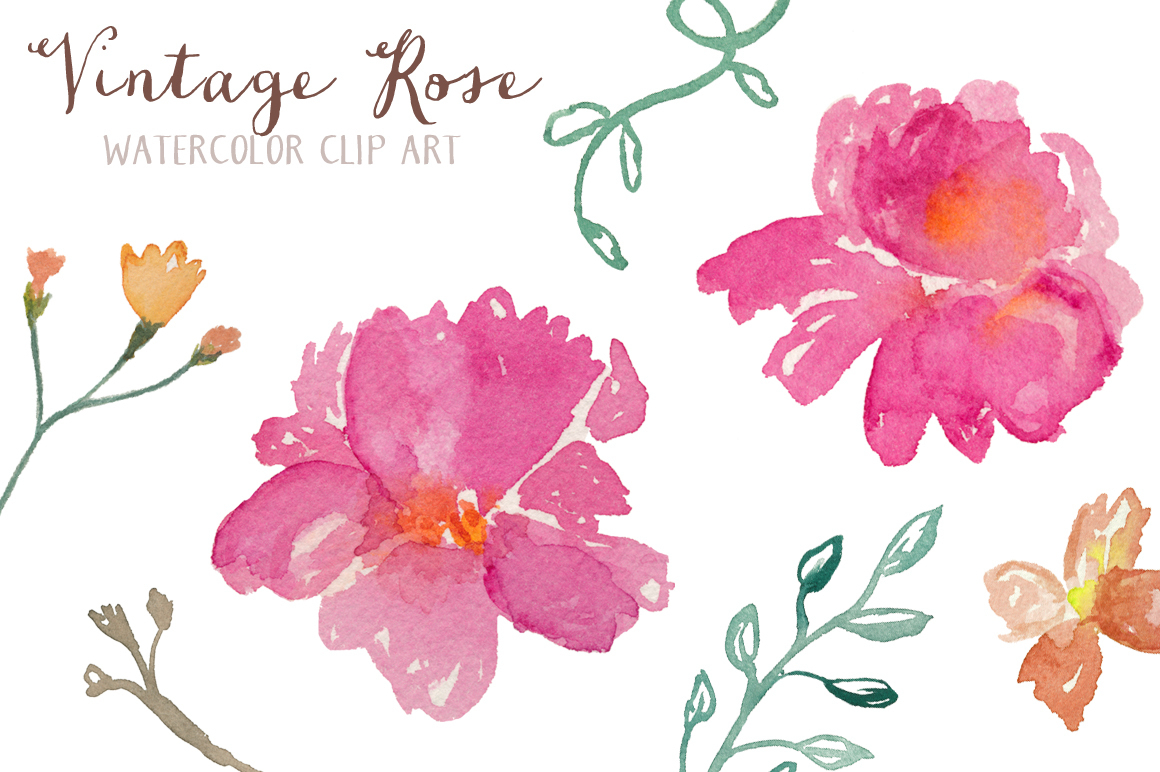 Free Watercolor Cliparts, Download Free Clip Art, Free Clip Art On - Free Printable Clip Art Flowers