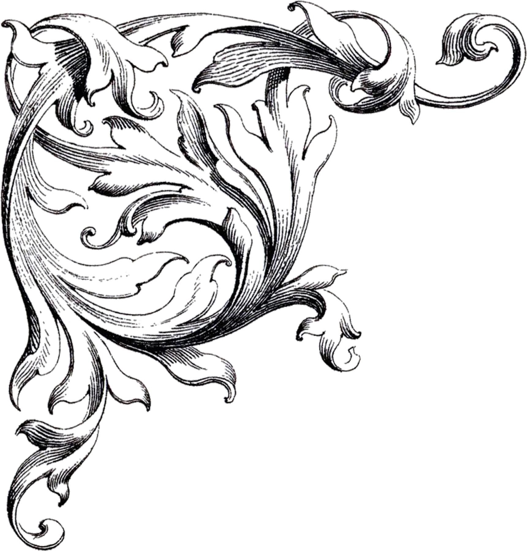 Free Wedding Clip Art Scrolls - The Graphics Fairy - Free Printable Wedding Scrolls