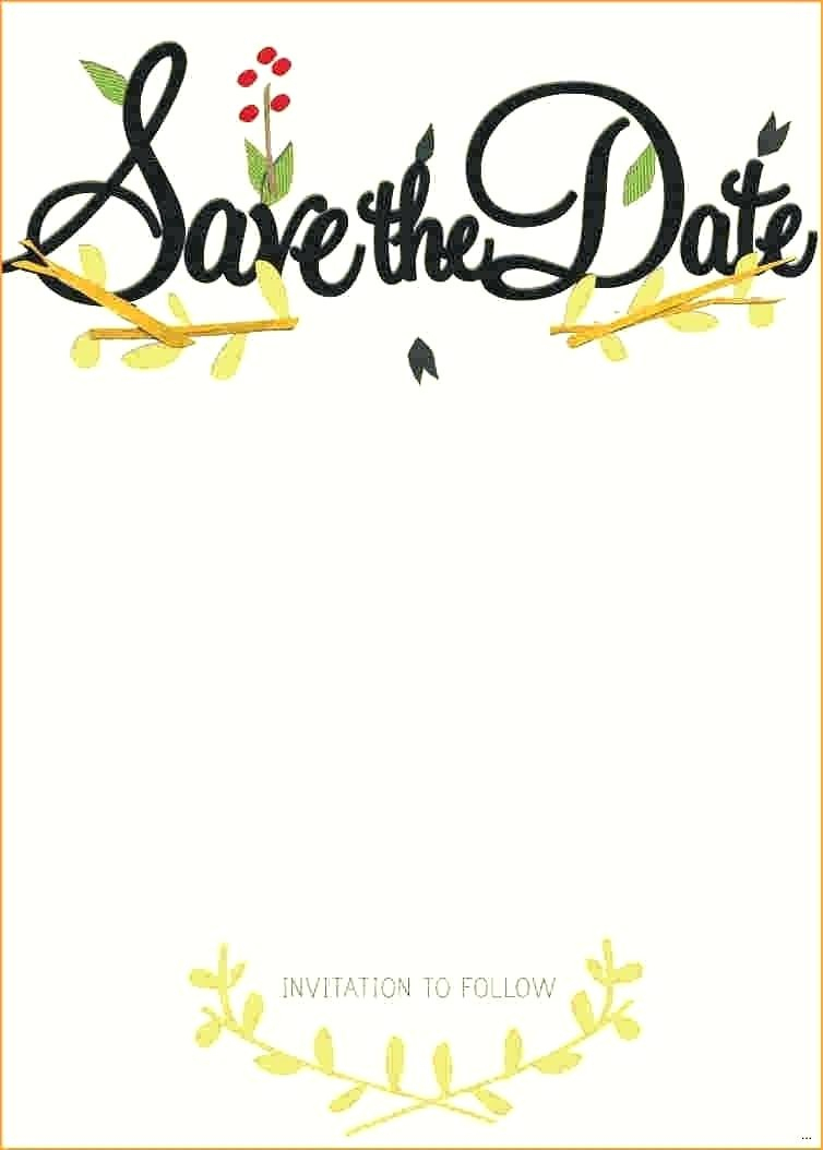 Free Wedding Luxury Printable Save The Date Invitation Templates - Free Printable Save The Date Invitation Templates