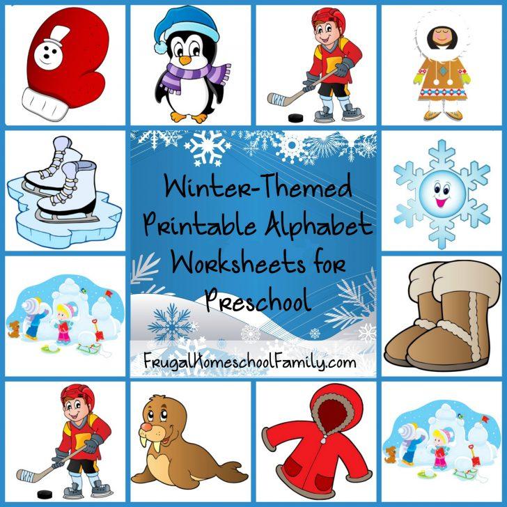 Free Printable Winter Preschool Worksheets