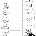 Free Word Family At Practice Printables And Activities | Daycare   Cvc Words Worksheets Free Printable