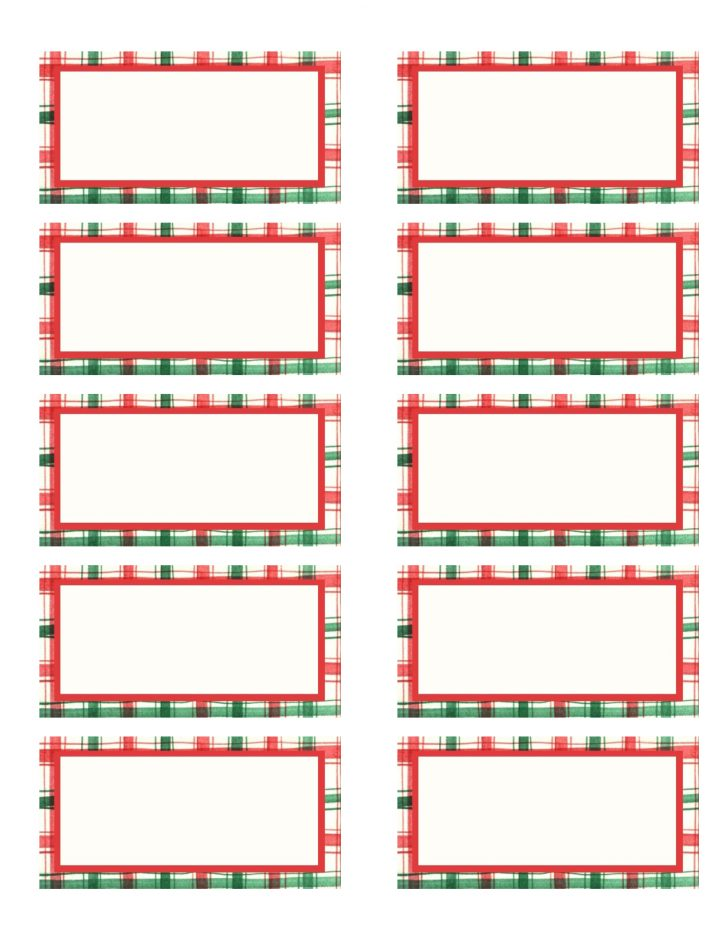Free Printable Christmas Address Labels Avery 5160
