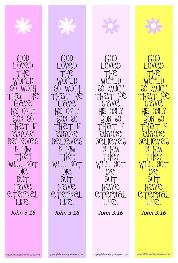 Free+Bible+Verse+Printable+Bookmark+Template | Booklover | Pinterest - Free Printable Bible Bookmarks Templates