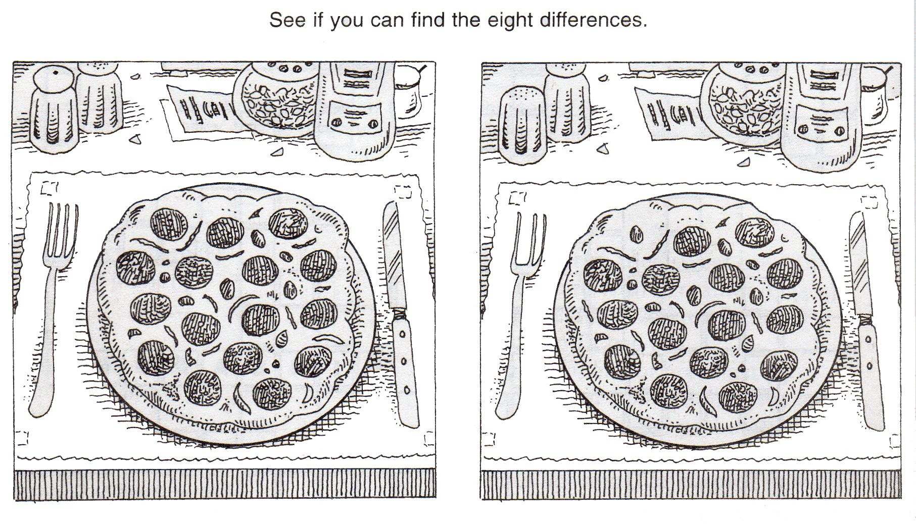 Free+Printable+Spot+The+Difference+Puzzles | Hg | Pinterest | Spot - Free Printable Spot The Difference Worksheets